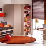 تصميم غرفة نوم للشباب مميزة - 2273