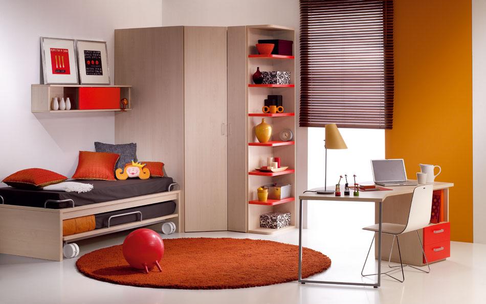 تصميم غرفة نوم للشباب مميزة