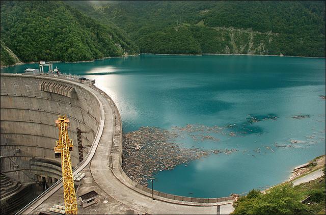 سد انغوري - Inguri Dam