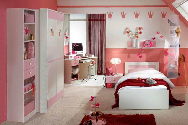 صورة لفكرة ديكور غرف نوم للبنات | المرسال