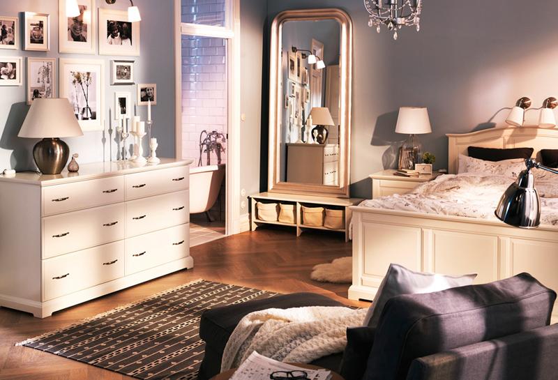 افكار تصميم مميزة لغرف النوم من ايكيا المرسال