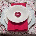 ديكورات طاولات رومانسيه - 2089