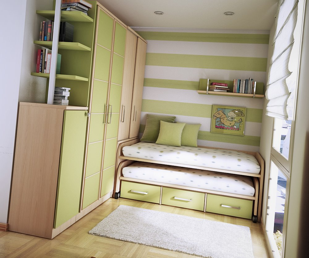 تصميم للغرف الصغيرة