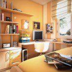 غرفة نوم صغيره للشباب - 2122