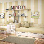تصميم سرير على شكل كنب - 2111
