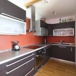 موديل مطبخ صغير لون غامق - 3212