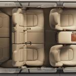 صورة للتصميم الداخلي كامل 3 مقاعد جيب لاندكروزر 2013