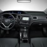 صورة المقصورة الداخليه جلد اسود سيفيك Honda Civic 2013