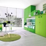 ديزاين جديد اخضر اللون لغرف الأطفال