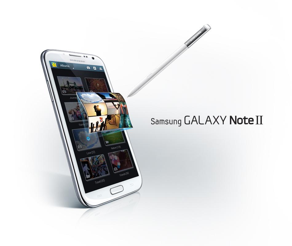 و صور جهاز جالكسي نوت تو الجديد Galaxy Note 2