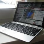 التابلت ميديا باد مع كيبورد مثل الاب توب شكل هواوي ميديا باد عشرة بعد تركيب الكيبورد الخاص به Huawei MediaPad 10 FHD  - 3725