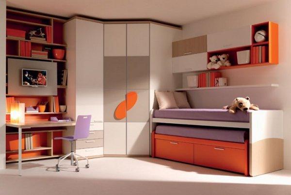 غرفة اطفال كبار في سن المدرسة | المرسال