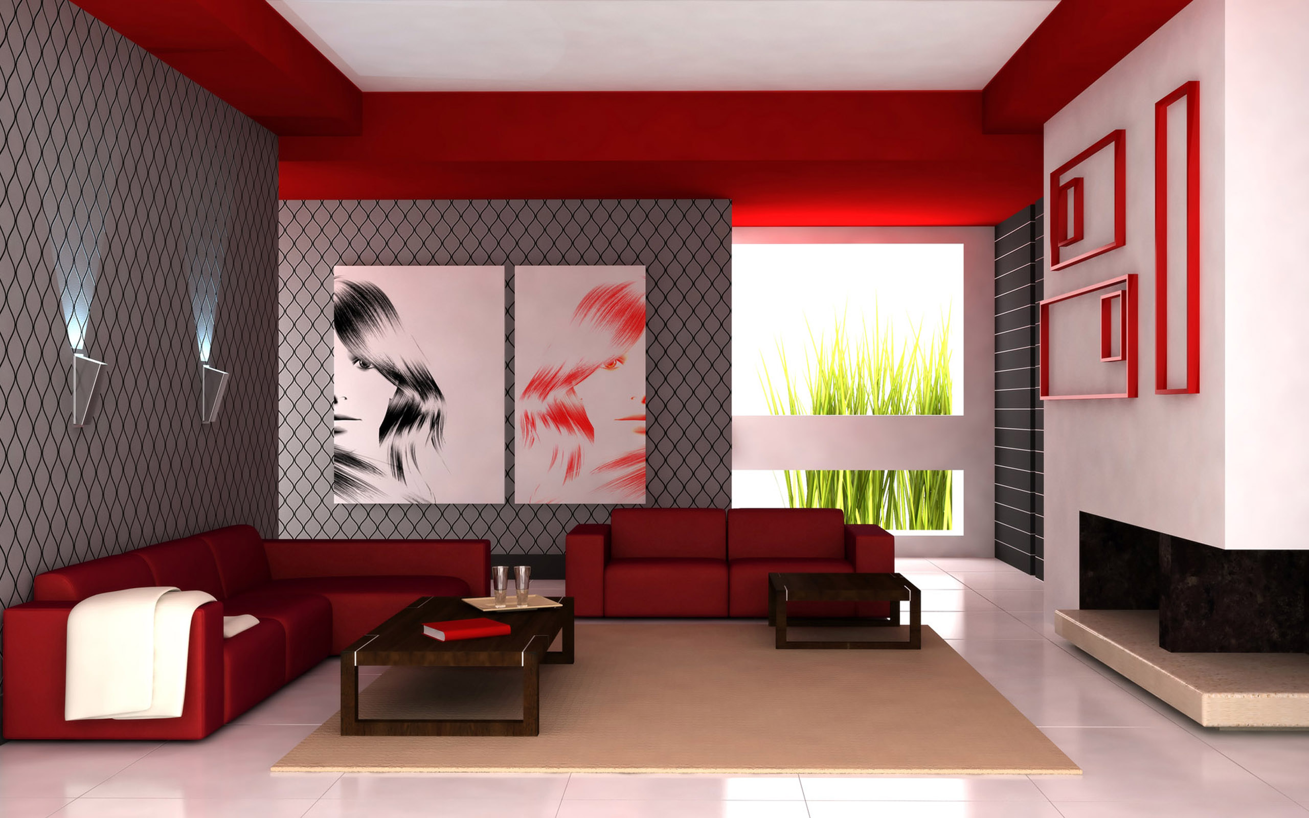 Modern Living Rooms | المرسال