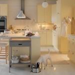 تصميم مطبخ جميل لون بيج