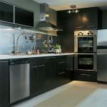 تصميم جديد لمطبخ لون اسود
