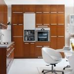 شكل الفرن الكهربائي في المطبخ