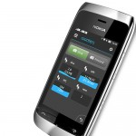 نوكيا اشا 310 فضي اللون Nokia Asha 310