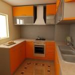 فكرة مطبخ للمساحات الصغيرة - 3226