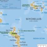 تحديد موقع جزيرة سيشل على الخريطة - 3451