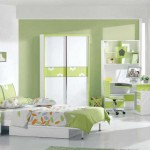 غرفة بناتية ناعمه اخضر فاتح و ابيض