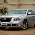 التصميم الخارجي لسيارة جلي الصينية