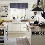 تصميم مطبخ من إيكيا مطبخ اللون ابيض