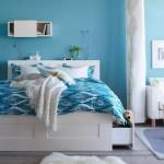صورة غرفة نوم من كتالوج ايكيا الجديد 2013
