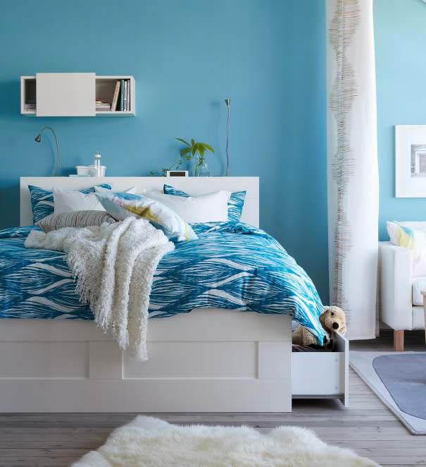 صورة غرفة نوم من كتالوج ايكيا الجديد 2013 | المرسال