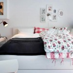 تصميم ناعم و جميل لغرفة نوم بيضاء