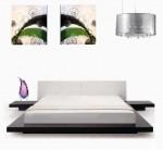 غرفة نوم اللوان فاتحة - 3040