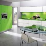 مطبخ لون اخضر