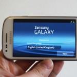 نقاء تشغيل الفيديو في شاشة جالكسي اس3 ميني samsung galaxys III mini