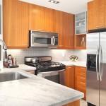 تصميم مطبخ الثلاجة بوسط الدولاب - 3217