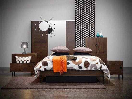 اللون الرصاصي في غرف النوم