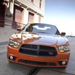 سيارة دودج تشارجر اروانج برتقالي Dodge Charger 2013