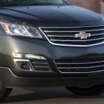 صورة شفرولية ترافرس Chevrolet Traverse 2013 من الامام