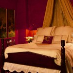 تصميم غرفة نوم باللون الاحمر - 5008