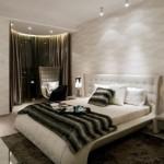 غرفة نوم فخمة جدا وهادئة - 4445