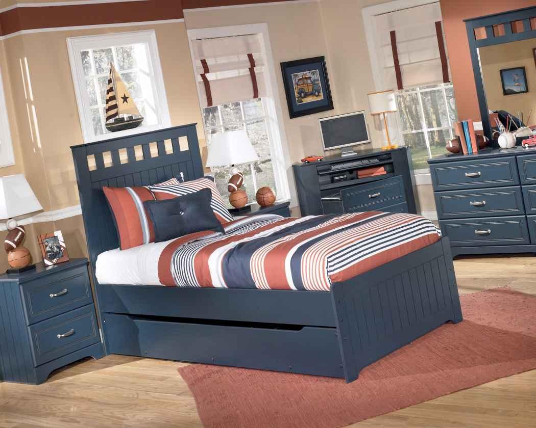 تصميم طقم كامل لغرفة نوم شباب | المرسال