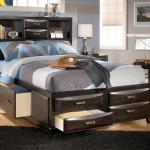 تصاميم جديدة لغرف نوم الشبابية السرير عالي مرتفع