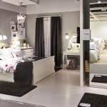 غرف نوم كاملة من ايكيا الدولاب و السرير و التسريحة - 5754