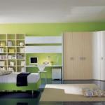 غرفي شبابيه خضراء متصلة بزاوية