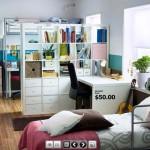 غرف نوم للشباب من ايكيا