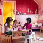 غرف بنات صغار من إيكيا