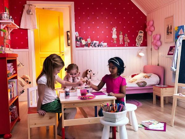 غرف بنات صغار من إيكيا | المرسال