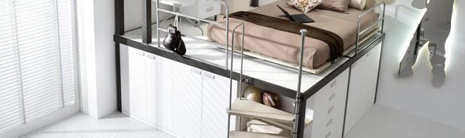 تصاميم جديدة لـ غرف نوم دورين للشباب | المرسال