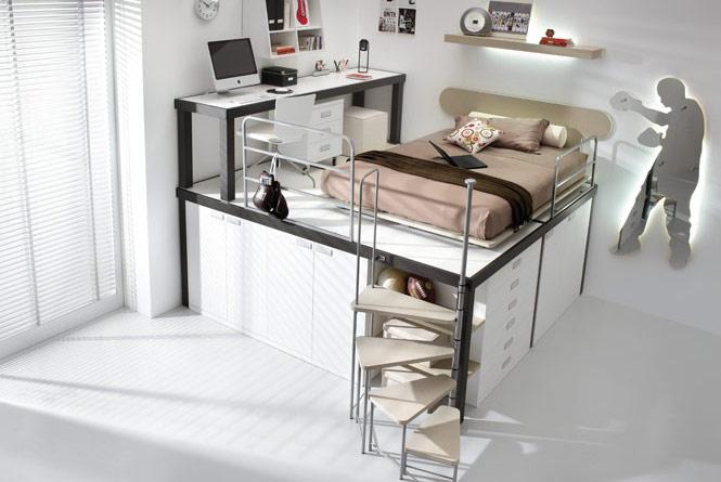 صور غرف نوم للشباب دورين جديده | المرسال