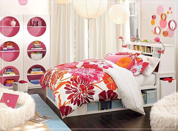غرف نوم المراهقات Modern-Stylish-Inspi