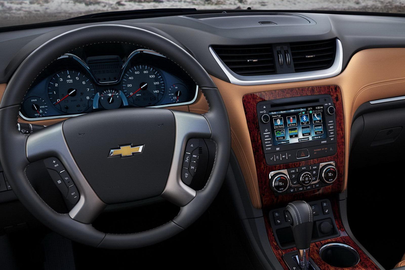شكل دركسون ترافرس Chevrolet Traverse 2013   المرسال