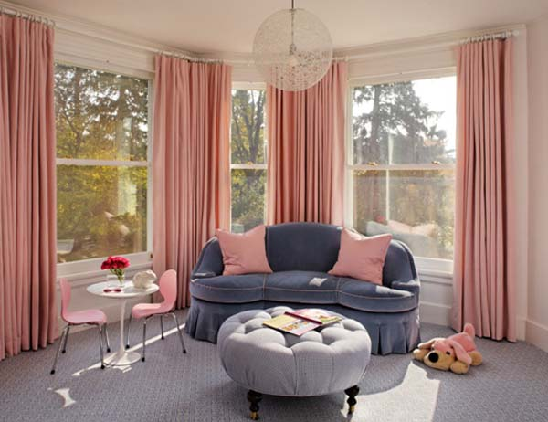 - Blue and pink living room ideas ...